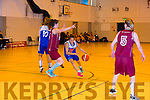 Team Garvey's  Juanita Robayo in Action in the Team Garvey's v NUIG Mystics Women's Div one Basketball at Mercy Mounthawk Gym on Saturday