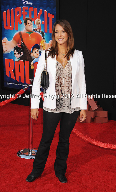 HOLLYWOOD, CA - OCTOBER 29: Eva La Rue arrives at the Los Angeles premiere of 'Wreck-It Ralph' at the El Capitan Theatre on October 29, 2012 in Hollywood, California.