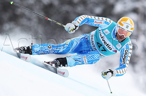 04.12.2011. Beaver Creek Colorado USA Ski Alpine FIS World Cup Giant slalom the men Picture shows Andr頍yhrer SWE