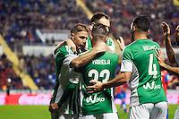Real Betis Balompie's Joaquin, Varela, Bruno during La Liga match. November 27, 2015. (ALTERPHOTOS/Javier Comos)