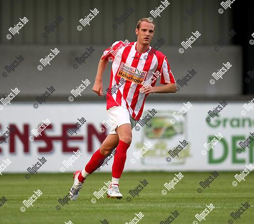 2008-08-16 / Voetbal / Hoogstraten VV / Anthony Dooms..Foto: Maarten Straetemans (SMB)