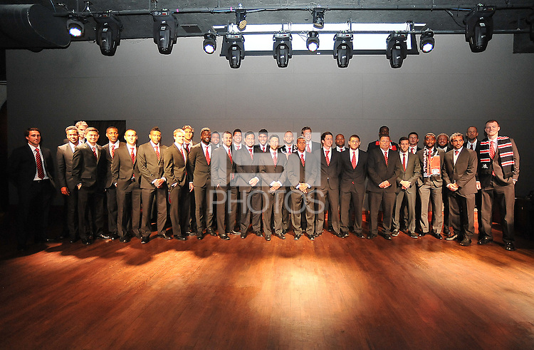 2013 D.C. United Team during the 11th Annual Kickoff luncheon, at The Hamilton Live DC in Washington DC , Tuesday March 5, 2013.