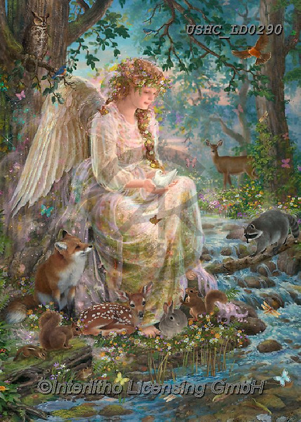 Liz,STILL LIFE STILLEBEN, NATURALEZA MORTA, LizDillon, paintings+++++,USHCLD0290,#I#, EVERYDAY,angel,fox,forrest ,puzzle,puzzles