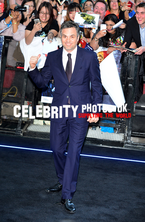 The Avengers: Age of Ultron - European Film Premiere at Vue Westfield, Westfield Shopping Centre in London, England. 21st April 2015