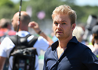 Nico Rosberg during The Formula 1 2018 Rolex British Grand Prix at Silverstone Circuit, Northampton, England on 8 July 2018. Photo by Vince  Mignott.
