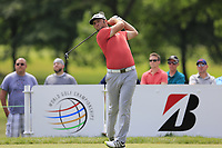 Jon Rahm (ESP) tees off the 3rd tee during Sunday's Final Round of the WGC Bridgestone Invitational 2017 held at Firestone Country Club, Akron, USA. 6th August 2017.<br /> Picture: Eoin Clarke | Golffile<br /> <br /> <br /> All photos usage must carry mandatory copyright credit (&copy; Golffile | Eoin Clarke)