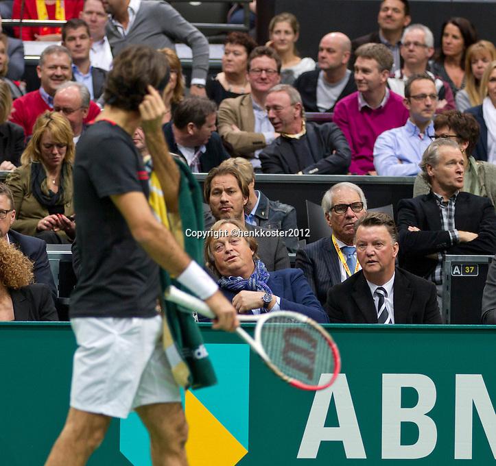 19-02-12, Netherlands,Tennis, Rotterdam, ABNAMRO WTT, Roger Federer