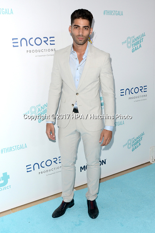 LOS ANGELES - APR 18:  Jason Canela at the Thirst Gala 2017 at Beverly Hilton Hotel on April 18, 2017 in Beverly Hills, CA