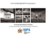 Six photographs by Michael Knapstein were named Finalists by the Royal Photographic Society.