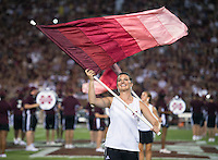 Game Day: MSU Football versus South Carolina. Half-time show.<br />  (photo by Megan Bean / &copy; Mississippi State University)