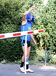 04.09.2019, Sportpark, Berlin, GER, 1.FBL, DFL,, Hertha BSC Training,<br /> DFL, regulations prohibit any use of photographs as image sequences and/or quasi-video<br /> im Bild Per Skelbred (Hertha BSC Berlin #3)<br /> <br />       <br /> Foto © nordphoto / Engler