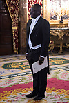 Sr Humphrey Chilu Chibanda ambassador of Republic of Zambia, attends to give credentials to King Felipe VI of Spain at Real Palace in Madrid, June 15, 2017. Spain.<br /> (ALTERPHOTOS/BorjaB.Hojas)