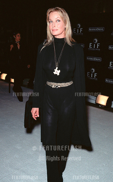 "07NOV99: Actress BO DEREK at Beverly Hills' Rodeo Drive's ""Tribute to Style: Millennium Exhibition & Concert"" in aid of the Entertainment Industry Foundation..© Paul Smith / Featureflash"