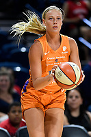 Washington, DC - July 30, 2019: Phoenix Mercury guard Sophie Cunningham (9) in action during first half of game between the Phoenix Mercury and Washington Mystics at the Entertainment & Sports Arena in Washington, DC. (Photo by Phil Peters/Media Images International)