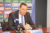 VOETBAL: ABE LENSTRA STADION: HEERENVEEN: 19-12-2013, Presentatie nieuw bestuur, Nieuwe voorzitter Jelko van der Wiel, ©foto Martin de Jong