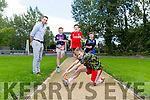 CBS The Green , get ready for the upcoming CBS 5k Family Fun Run, Taking place on Sunday, September 25, at 1pm raising funds for the Astro-Turf Project. Pictured Pictured were l-r  Matt Healy, Cian Hickey, Adam O'Keeffe and Luke McCaffrey here with Marc O'Se