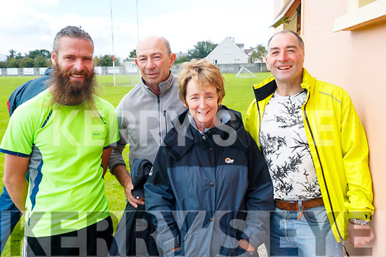 Pictured taking part in the 5k walk in memory of Tony O'Donoghue, Blennerville on Sunday morning last were l-r: Gareth Scollard, Billy Irwin, Lou Irwin and Patrick Dillane.