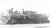 Fireman's-side view of D&amp;RGW #401 at Alamosa.<br /> D&amp;RGW  Alamosa, CO  Taken by Perry, Otto C. - 6/6/1923