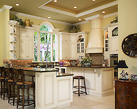 Highly detailed Country French kitchen