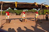 Xingu Indigenous Park, Mato Grosso, Brazil. Aldeia Matipu. Kuarup festival.