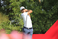 Julian Suri (USA) during the 1st round at the WGC HSBC Champions 2018, Sheshan Golf CLub, Shanghai, China. 25/10/2018.<br /> Picture Phil Inglis / Golffile.ie<br /> <br /> All photo usage must carry mandatory copyright credit (&copy; Golffile | Phil Inglis)