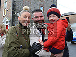 Lynn, Kenneth and Baxter Browne at Music at the Gate, Laurence's Gate<br /> <br /> <br /> photo - Jenny Matthews