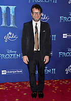 "LOS ANGELES, USA. November 08, 2019: Christophe Beck at the world premiere for Disney's ""Frozen 2"" at the Dolby Theatre.<br /> Picture: Paul Smith/Featureflash"