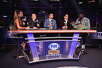 LOS ANGELES - SEPTEMBER 28:  Kate Abdo, Ray Mancini, Danny Garcia, Keith Thurman and Deontay Wilder at Fox Sports PBC Pay-Per-View fight night on September 28, 2019 in Los Angeles, California. (Photo by Frank Micelotta/Fox Sports/PictureGroup)