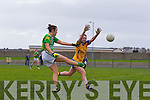 Louise Galvin for the Kerry ladies team that played Clare last Saturday afternoon in Listowel.