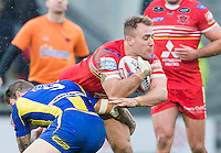 Picture by Allan McKenzie/SWpix.com - 04/03/2017 - Rugby League - Betfred Super League - Salford Red Devils v Warrington Wolves - AJ Bell Stadium, Salford, England - Lee Mossop.