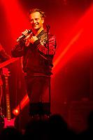 David Hallyday in concert in Andenne, Belgium