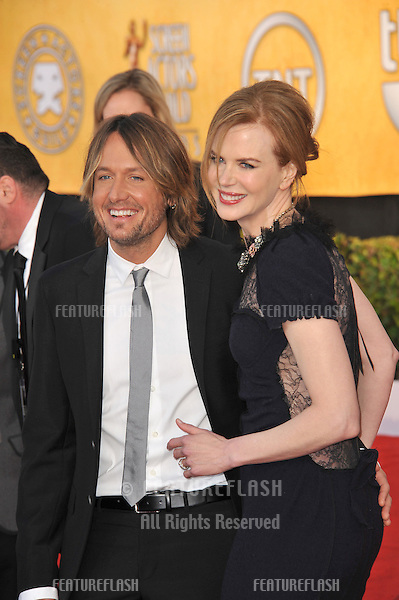 Nicole Kidman & Keith Urban at the 17th Annual Screen Actors Guild Awards at the Shrine Auditorium..January 30, 2011  Los Angeles, CA.Picture: Paul Smith / Featureflash