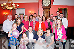 CHRISTENING DAY: David and Mandy Furey, Tralee (seated centre) christened their daughter Aoibhinn in St Brendan's Church last Saturday afternoon by Fr Patsy Lynch and after to a family celebration in the Imperial hotel,Tralee..
