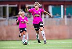 Solna 2014-08-16 Fotboll Damallsvenskan AIK - Kopparbergs/G&ouml;teborg FC :  <br /> Kopparbergs/G&ouml;teborgs Andrine Hegerberg i aktion <br /> (Foto: Kenta J&ouml;nsson) Nyckelord:  AIK Gnaget Kopparbergs G&ouml;teborg Kopparbergs/G&ouml;teborg portr&auml;tt portrait