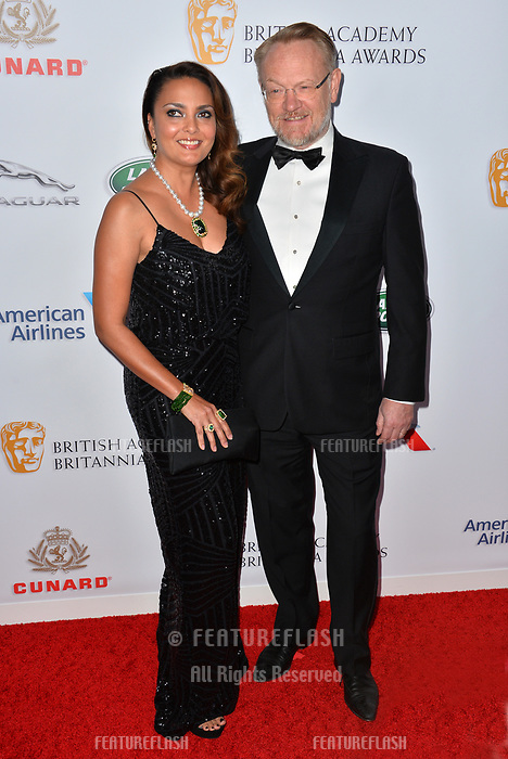 BEVERLY HILLS, CA. October 26, 2018: Allegra Harris &amp; Jared Harris at the 2018 British Academy Britannia Awards at the Beverly Hilton Hotel.<br /> Picture: Paul Smith/Featureflash