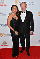 BEVERLY HILLS, CA. October 26, 2018: Allegra Harris & Jared Harris at the 2018 British Academy Britannia Awards at the Beverly Hilton Hotel.<br /> Picture: Paul Smith/Featureflash