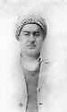 Iraq 1954?<br /> Portrait of Abdul Wahab Agha Rowanduzi  Irak 1954? Portrait de Abdul Wahab Agha Rowanduzi.
