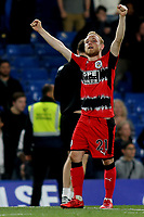 Alex Pritchard of Huddersfield Town celebrates at the final whistle during Chelsea vs Huddersfield Town, Premier League Football at Stamford Bridge on 9th May 2018