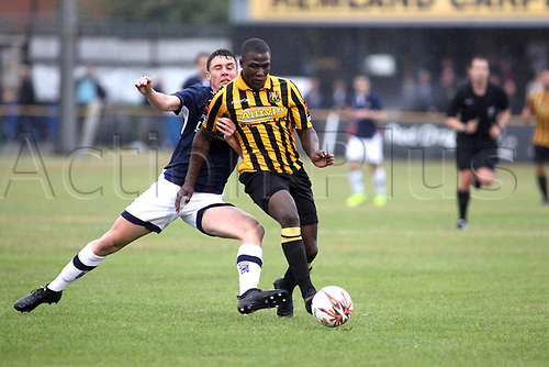 11th July 2017, Fullicks Stadium, Folkestone, England; Football Pre Season Friendly; Folkestone Invicta FC versus Millway XI; Action during the first half