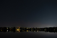 Comet NEOWISE, as seen from Green Lake in Seattle.