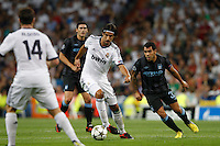 17.09.2012 SPAIN -  Champions League 12/13 Matchday 1th  match played between Real Madrid CF vs  Manchester City at Santiago Bernabeu stadium. The picture show Sami Khedira (German midfielder of Real Madrid)