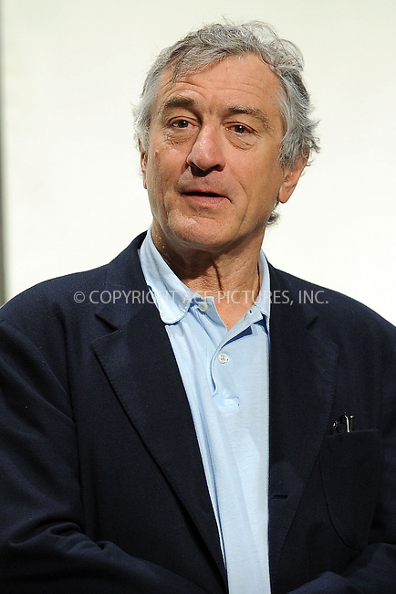 WWW.ACEPIXS.COM . . . . . ....April 20 2010, New York City....Tribeca Film Festival co-founder, Robert De Niro on stage at  the opening press conference for the 2010 Tribeca Film Festival at the Tribeca Performing Arts Center on April 20, 2010 in New York City. ....Please byline: KRISTIN CALLAHAN - ACEPIXS.COM.. . . . . . ..Ace Pictures, Inc:  ..(212) 243-8787 or (646) 679 0430..e-mail: picturedesk@acepixs.com..web: http://www.acepixs.com