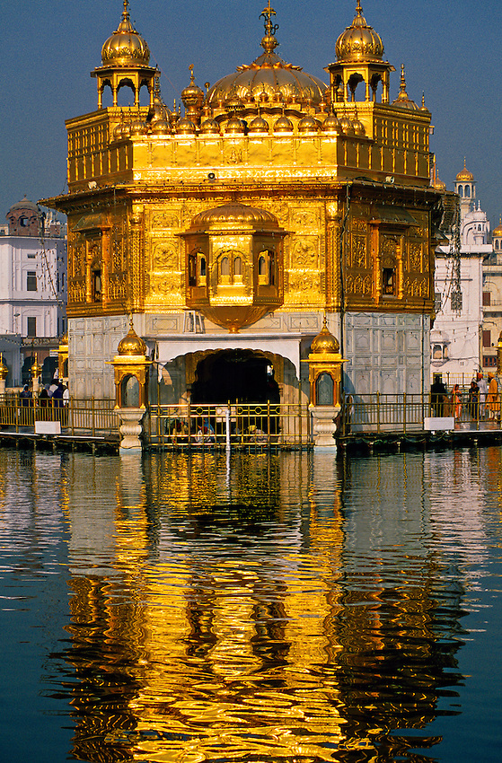 The Golden Temple (holiest Sikh shrine), Amritsar, Punjab, India