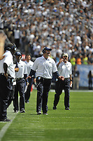 07 September 2013:  Penn State coach Bill O'Brien. The Penn State Nittany Lions defeated the Eastern Michigan Eagles 45-7 at Beaver Stadium in State College, PA.