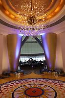 General views of inside the Burj al Arab, Jumeirah, Dubai, United Arab Emirates on 1.4.19.