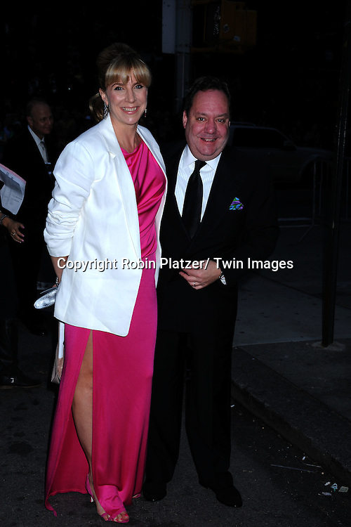James Nederlander and wife Margo attending the 65th Annual Tony Awards at the Beacon Theatre in New York City on June 12, 2011.