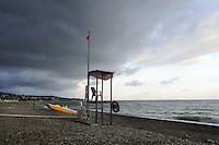 - Sicilia,  la spiaggia di Acquedolci (Messina)<br />