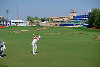 Brandon Stone (RSA) on the 18th fairway during the final round of the DP World Tour Championship, Jumeirah Golf Estates, Dubai, United Arab Emirates. 18/11/2018<br /> Picture: Golffile | Fran Caffrey<br /> <br /> <br /> All photo usage must carry mandatory copyright credit (© Golffile | Fran Caffrey)