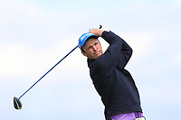 Darragh Flynn (Carton House) on the 10th tee during Round 4 of The East of Ireland Amateur Open Championship in Co. Louth Golf Club, Baltray on Monday 3rd June 2019.<br /> <br /> Picture:  Thos Caffrey / www.golffile.ie<br /> <br /> All photos usage must carry mandatory copyright credit (© Golffile | Thos Caffrey)