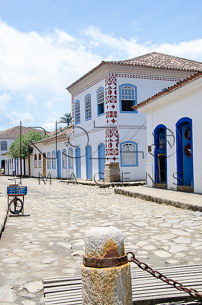 Casarios no centro histórico, Paraty- RJ, 01/2014.